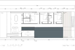 Floor plan of Casa Mediterra
