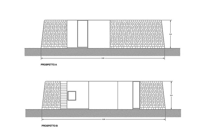 Plot of Casa Aroma, new build house in Puglia