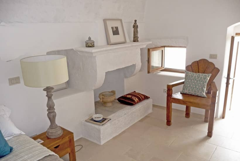 Trullo's Interior design