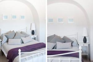 bedroom in Sereno, restored trullo in Cisternino