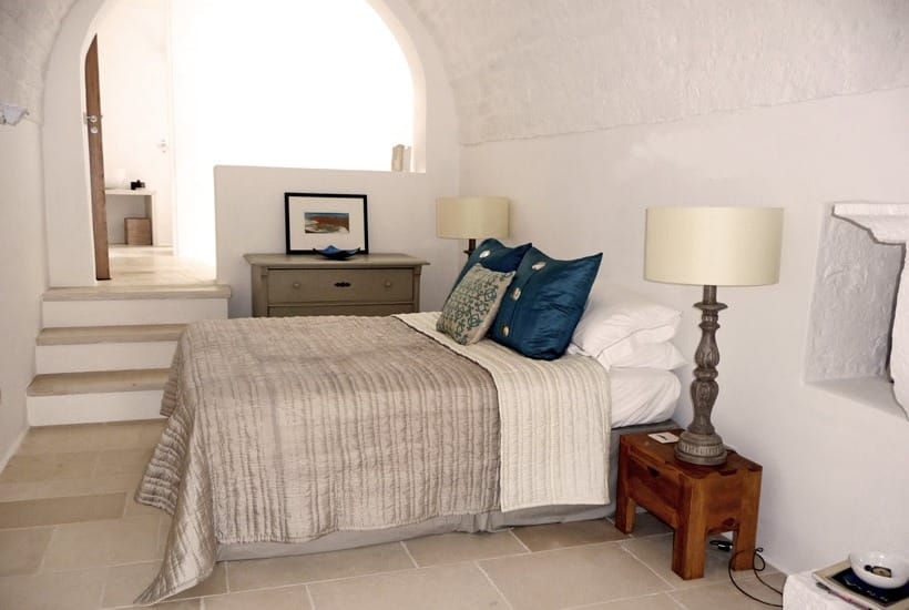 Trullo's bedroom