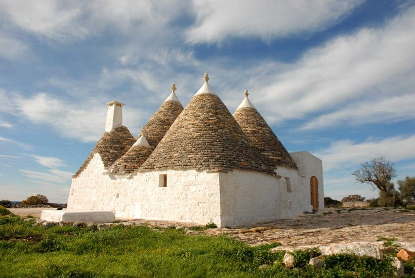 Restored trullo in Cisternino