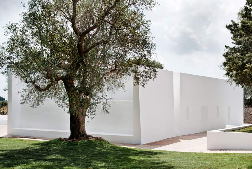 Restored masseria in Puglia: it's Casa Sorrentino