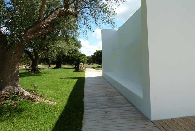 restored masseria in Puglia