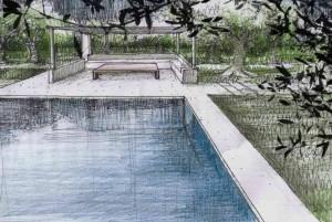 Swimming pool in Casa Zippitello, restored house in Puglia