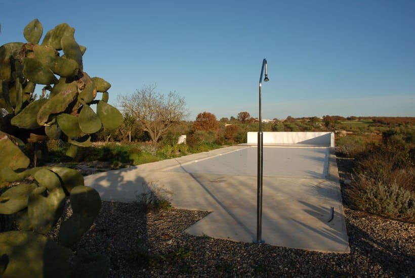 Pool restoring design for Casa Zippitello in Puglia
