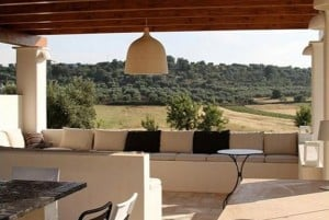 Gazebo in masseria Settarte restored farmhouse