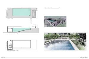 Design of Casa Zippitello, restored house with swimming pool