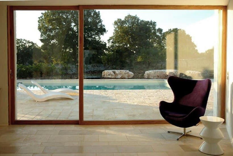 Living room in trullo dei Monaci