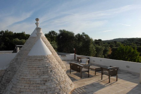 Old Trullo Modern Restored in Puglia