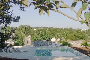 Swimming pool trullo