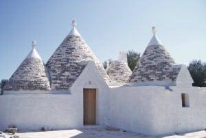 Restored trulli Chiobbica in Ostuni