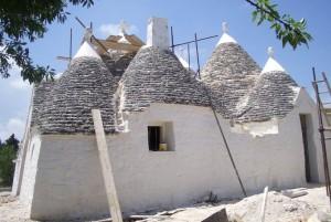Restored trullo in Cisternino