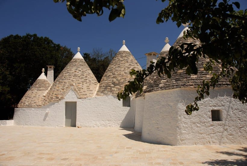 Trulli restoration in Itria Valley