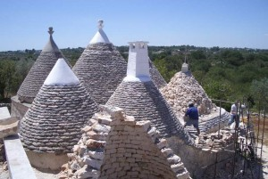 Turnkey trullo restoration in Itria Valley