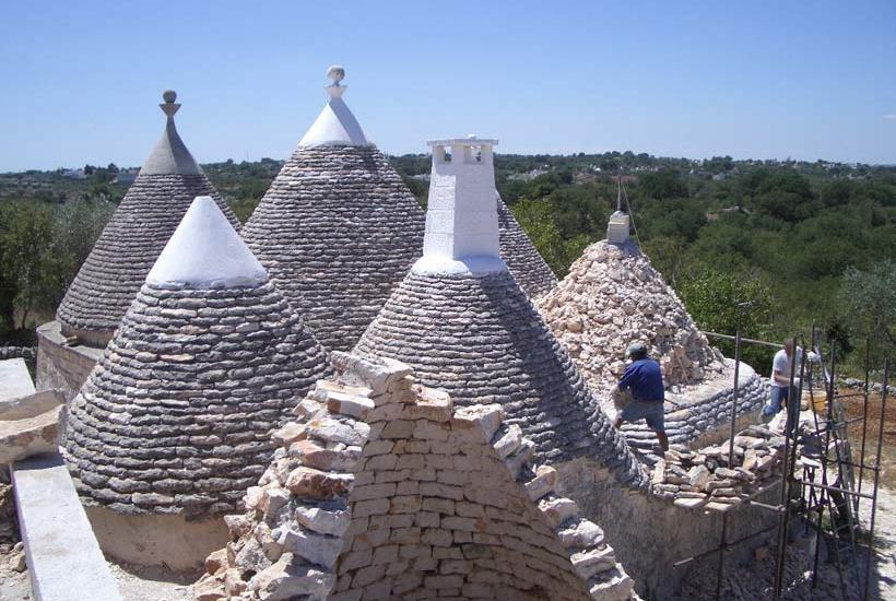 Turnkey trullo restoration in Itria Valley