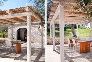 Outdoor of Sereno, trullo for rent in Puglia