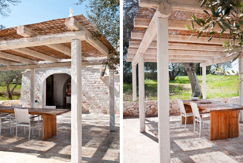Outdoor of Sereno, trullo for rent in Puglia