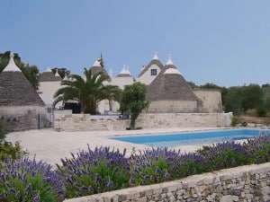 trulli with swimming pool for sale