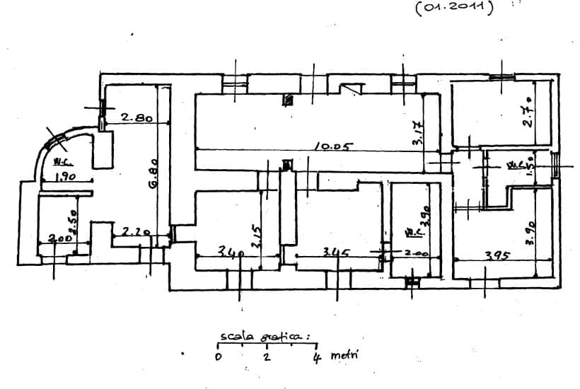Floor plan of Casa Ulmo