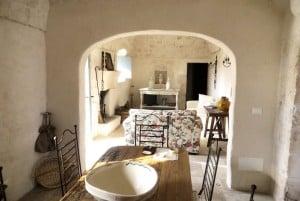 Living room in Casa Ulmo