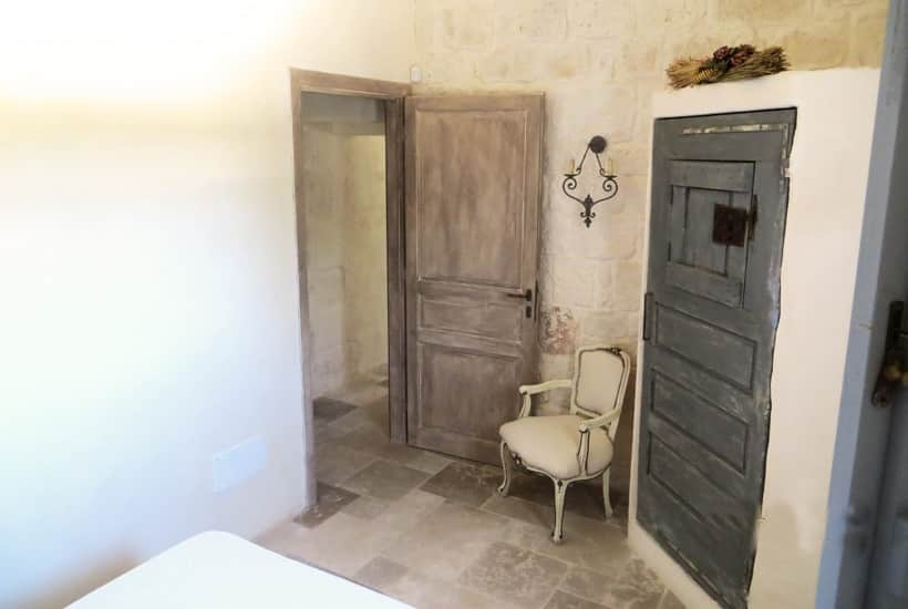 Bedroom in Casa Ulmo, restore masseria in Ceglie Messapica, Puglia