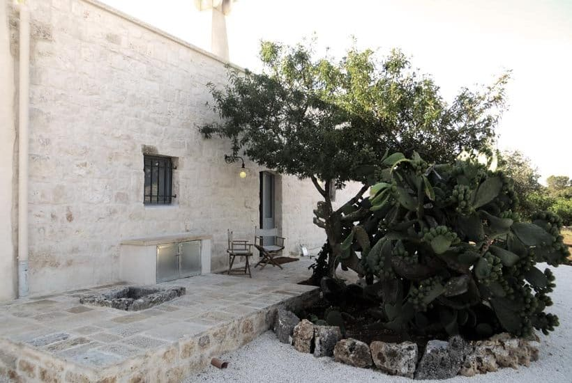 Restored farmhouse in Puglia, typical masseria in Ceglie Messapica