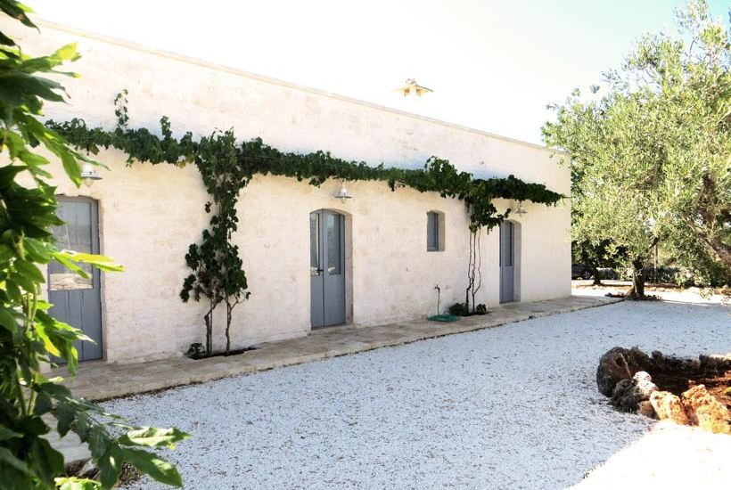 Restored farmhouse masseria in ceglie Messapica, Puglia