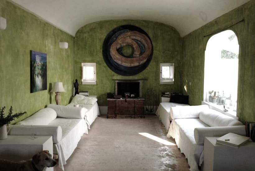 Living Room in Casa Tirunno