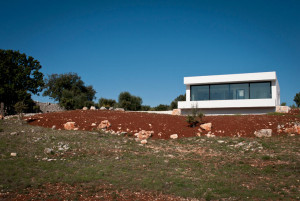New build house in Puglia, Italy
