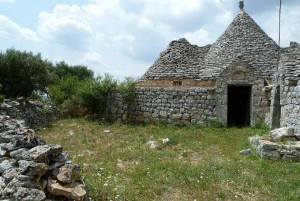 restoration project for a trullo