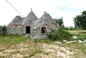 restoration project for a trullo