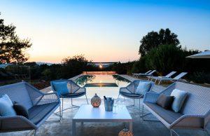 A new build house in Puglia