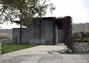 new build house in Puglia