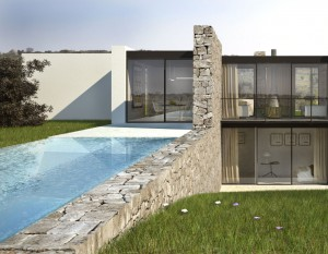 new build house in Puglia