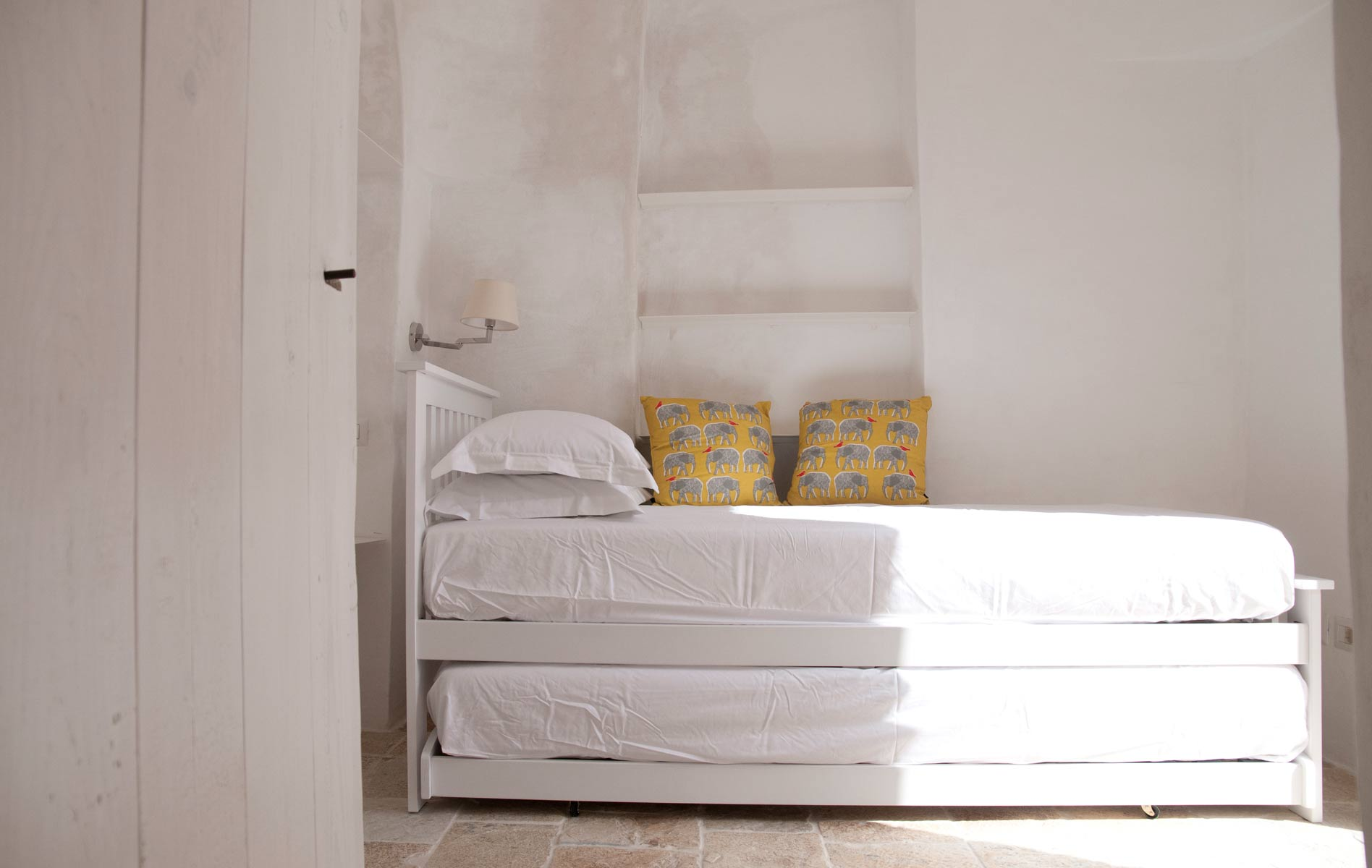 Guests Bedroom in a trullo