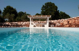 Restored trullo Fantese with swimming pool in Puglia