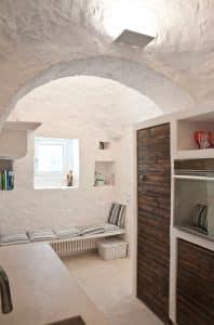 Living room: interior design for a restored house