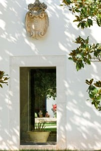 Courtyard in Villa Cenci, farmhouse in Puglia