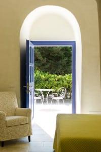 Interior design of a typical masseria in Puglia