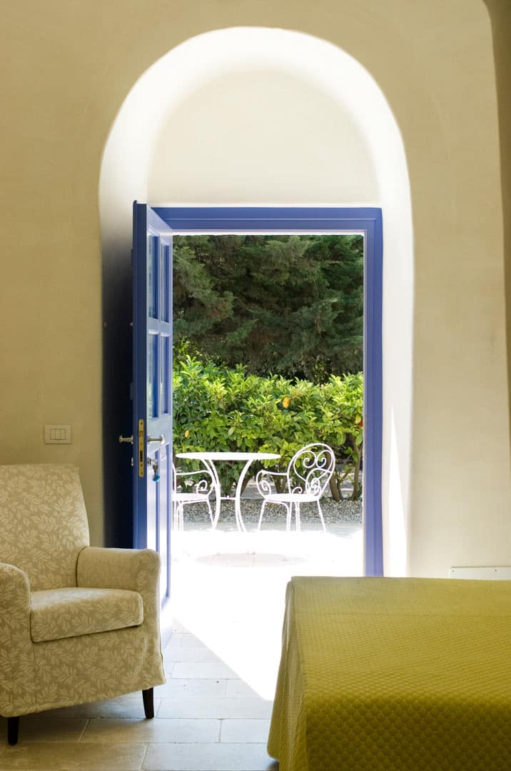 Interior design of a typical masseria in Puglia