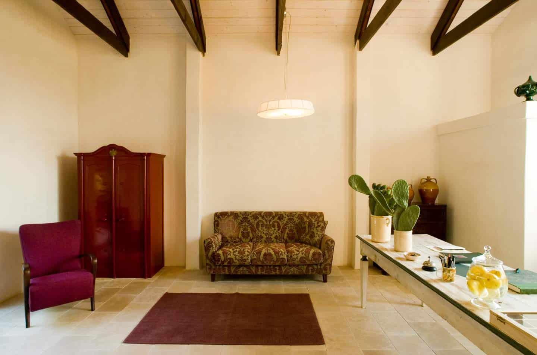 Interior design of a Puglia's masseria