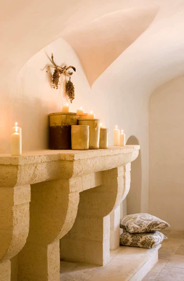 Puglia's farmhouse interiors