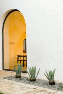 Villa Cenci Courtyard