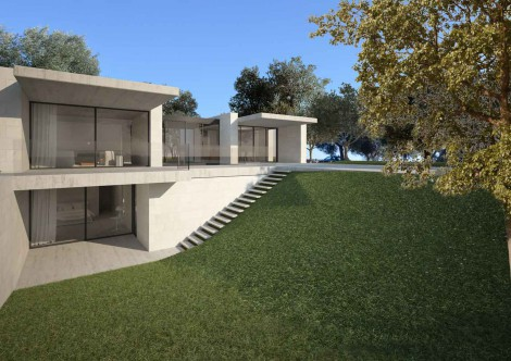 Contemporary house Ostuni Puglia