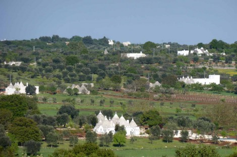 Panoramic plot in Ostuni